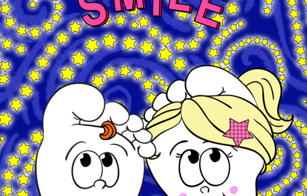 Canvas Wall Hanging – Smile 6″x6″